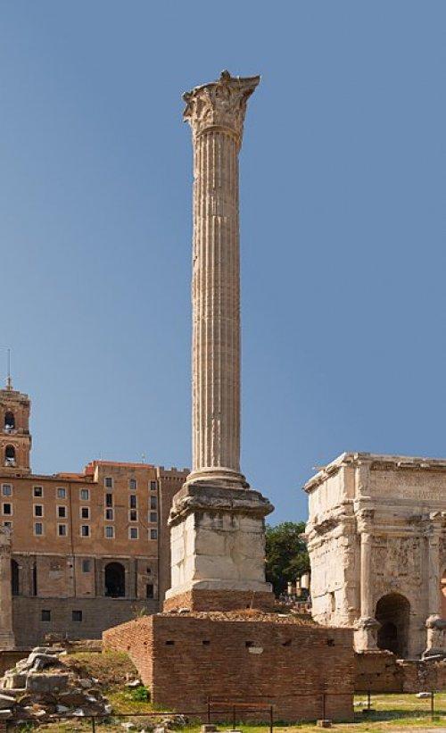 Coluna de Focas no Fórum romano.