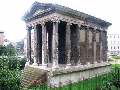 Templo de Portunus em Roma.
