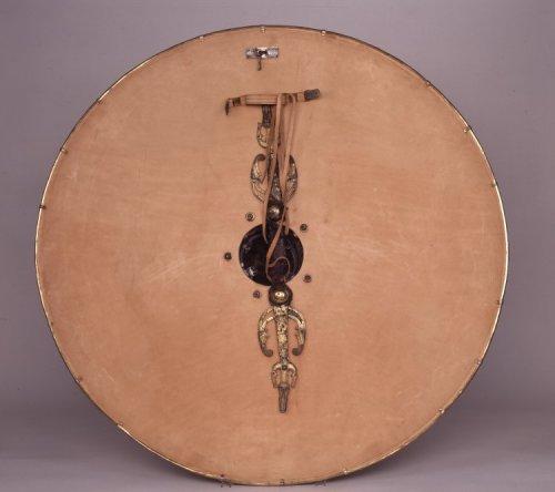 Parte de trás do escudo da necrópole de Sutton Hoo. Século 6 e 7. Museu Britânico.