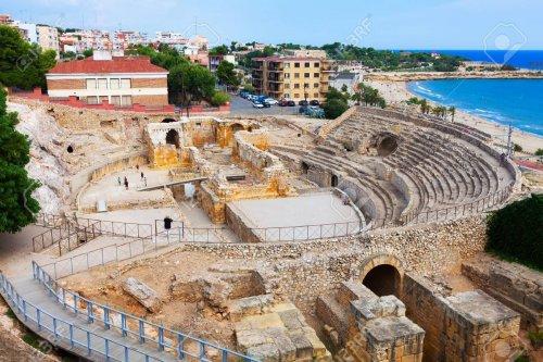 Anfiteatro de Tarragona, Espanha.