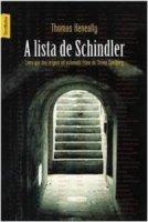 Capa do livro: A lista de Schindler