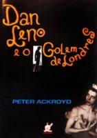 Capa do livro: Dan Leno e o Golem de Londres