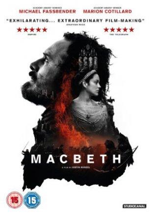 Capa do filme: Macbeth: Ambição e Guerra