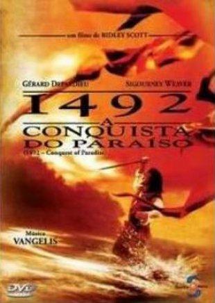 Capa do filme: 1492: A Conquista do Paraíso