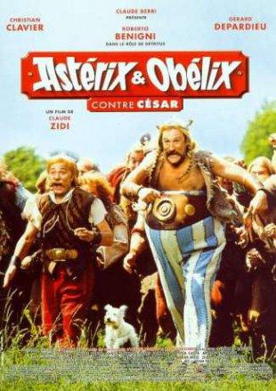 Capa do filme: Astérix e Obélix: Contra César
