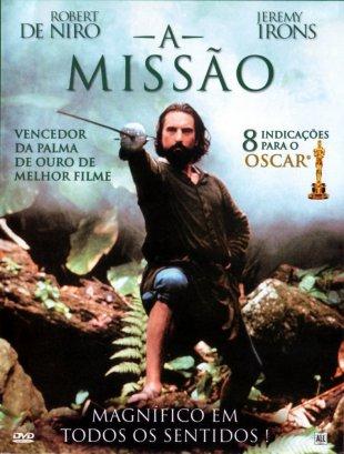 Capa do filme: A Missão