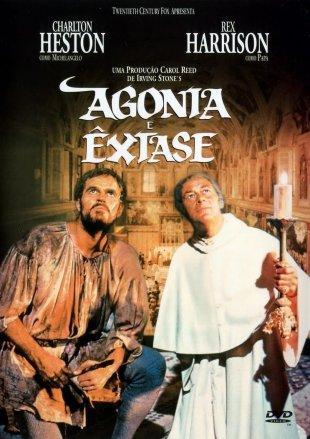 Capa do filme: Agonia e Êxtase