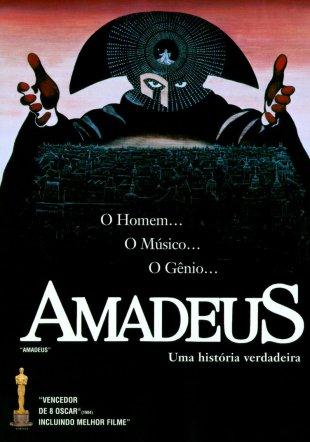 Capa do filme: Amadeus