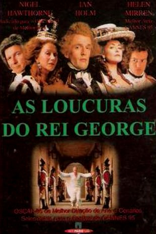 Capa do filme: As Loucuras do Rei George