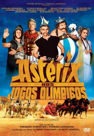 Capa do filme: Asterix nos Jogos Olímpicos