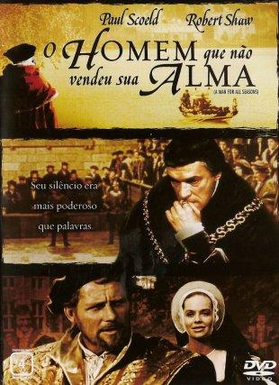 Capa do filme: O homem que não vendeu sua alma