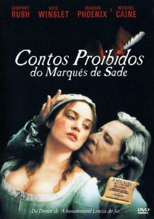 Capa do filme: Contos Proibidos do Marquês de Sade