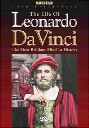 Capa do filme: A Vida de Leonardo da Vinci