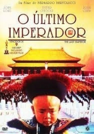 Capa do filme: O Último Imperador