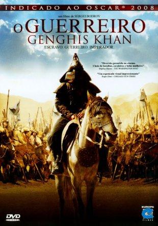 Capa do filme: O Guerreiro Genghis Khan