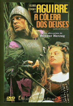 Capa do filme: Aguirre, a Cólera dos Deuses