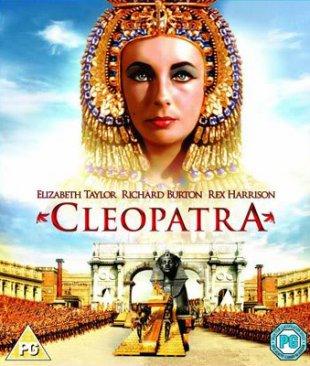 Capa do filme: Cleópatra