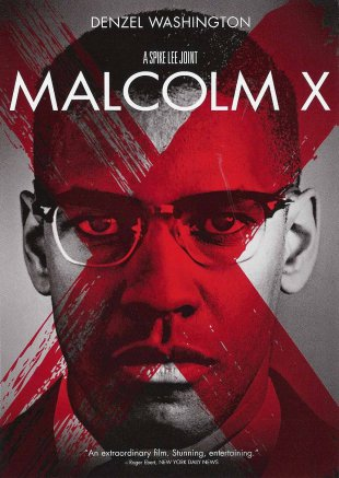 Capa do filme: Malcolm X