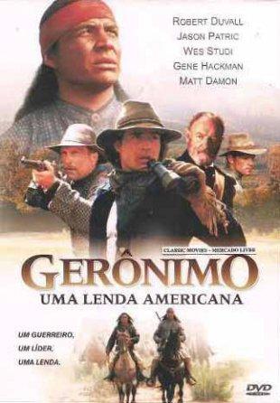 Capa do filme: Gerônimo - Uma Lenda Americana