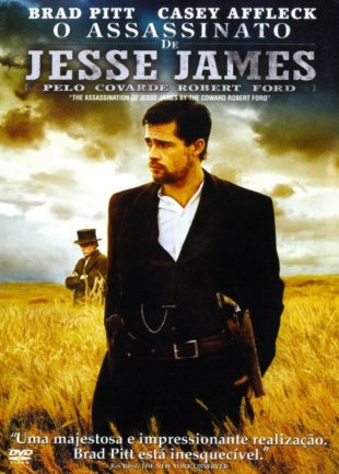 Capa do filme: O Assassinato de Jesse James pelo covarde Robert Ford