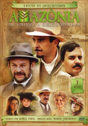 Capa do filme: Amazônia: De Galvez a Chico Mendes