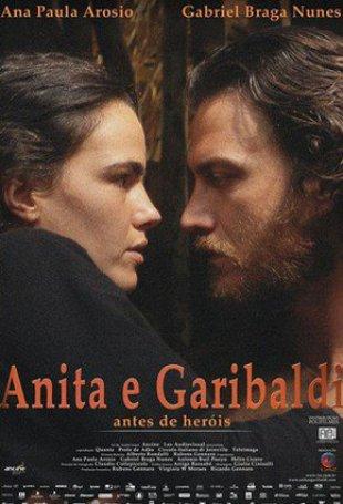Capa do filme: Anita e Garibaldi