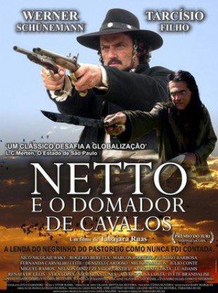 Capa do filme: Netto e o Domador de Cavalos