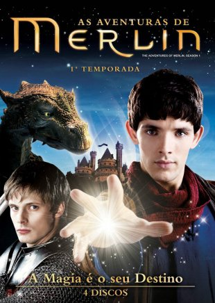 Capa do filme: As Aventuras de Merlin