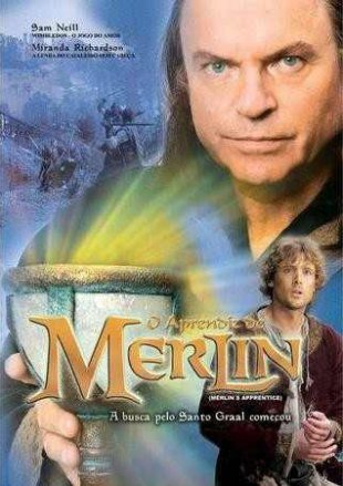 Capa do filme: O Aprendiz de Merlin