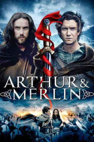Capa do filme: Arthur & Merlin