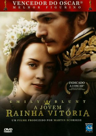 Capa do filme: A Jovem Rainha Victoria