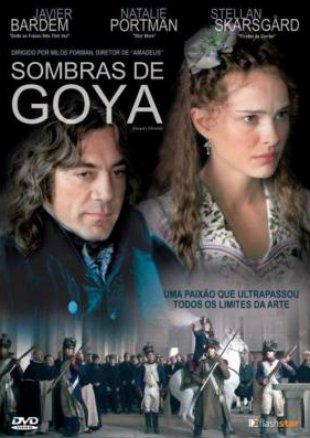 Capa do filme: Sombras de Goya