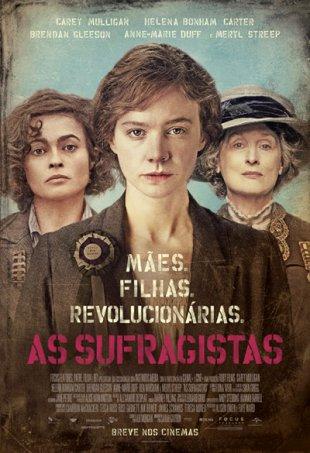 Capa do filme: As Sufragistas