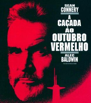Capa do filme: A Caçada ao Outubro Vermelho
