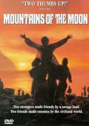 Capa do filme: As Montanhas da Lua