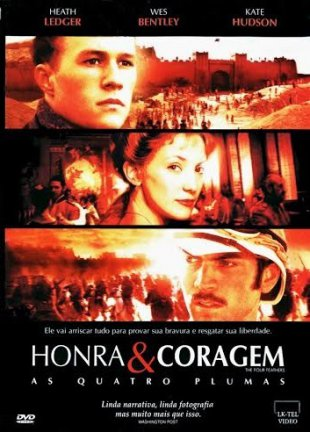 Capa do filme: Honra & Coragem - As Quatro Plumas