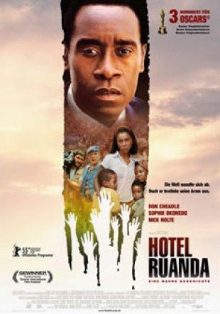Capa do filme: Hotel Ruanda