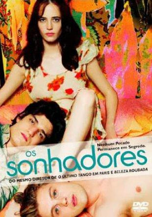 Capa do filme: Os Sonhadores