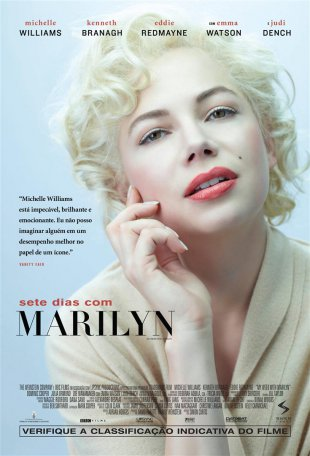 Capa do filme: Sete dias com Marilyn