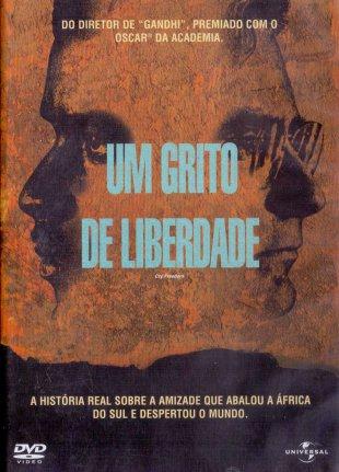 Capa do filme: Um grito de liberdade