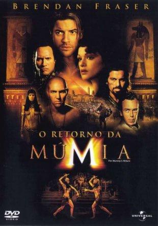 Capa do filme: O Retorno da Múmia