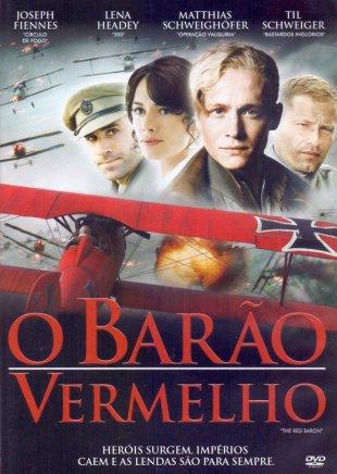Capa do filme: O Barão Vermelho