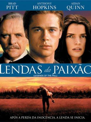 Capa do filme: Lendas da Paixão