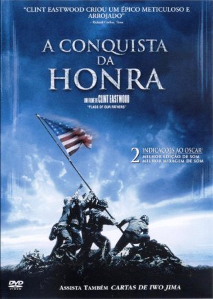 Capa do filme: A Conquista da Honra