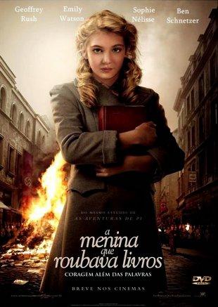 Capa do filme: A Menina que Roubava Livros