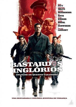 Capa do filme: Bastardos Inglórios