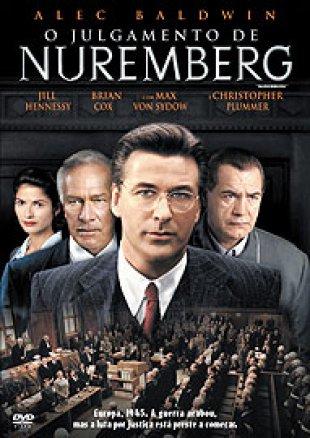 Capa do filme: O Julgamento de Nuremberg