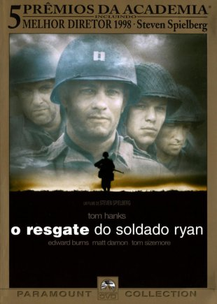 Capa do filme: O resgate do soldado Ryan