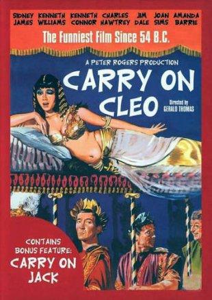 Capa do filme: Os Apuros de Cleópatra