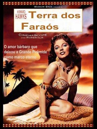 Capa do filme: Terra dos Faraós